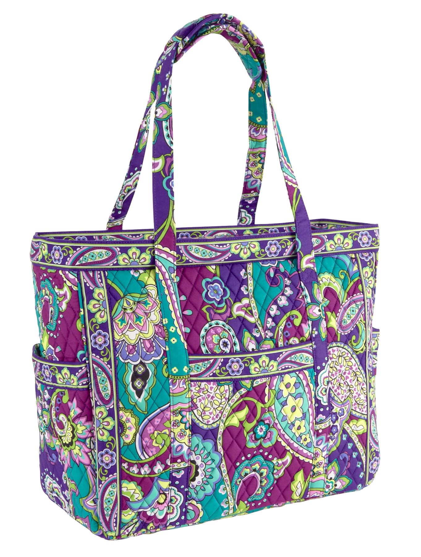 vera bradley get carried away tote bag travel bag martlocal. Black Bedroom Furniture Sets. Home Design Ideas