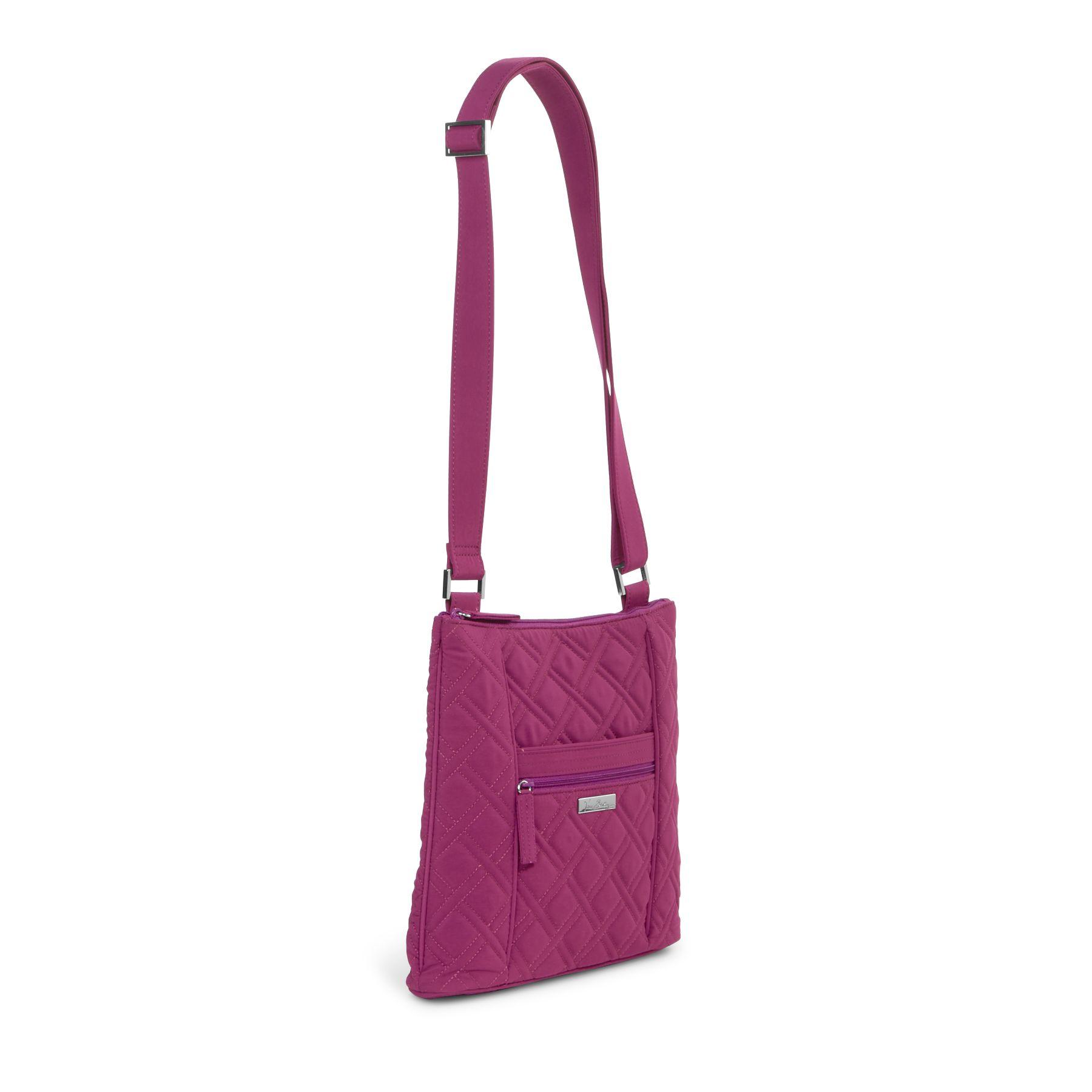 Vera Bradley Microfiber Hipster Crossbody Bag | EBay