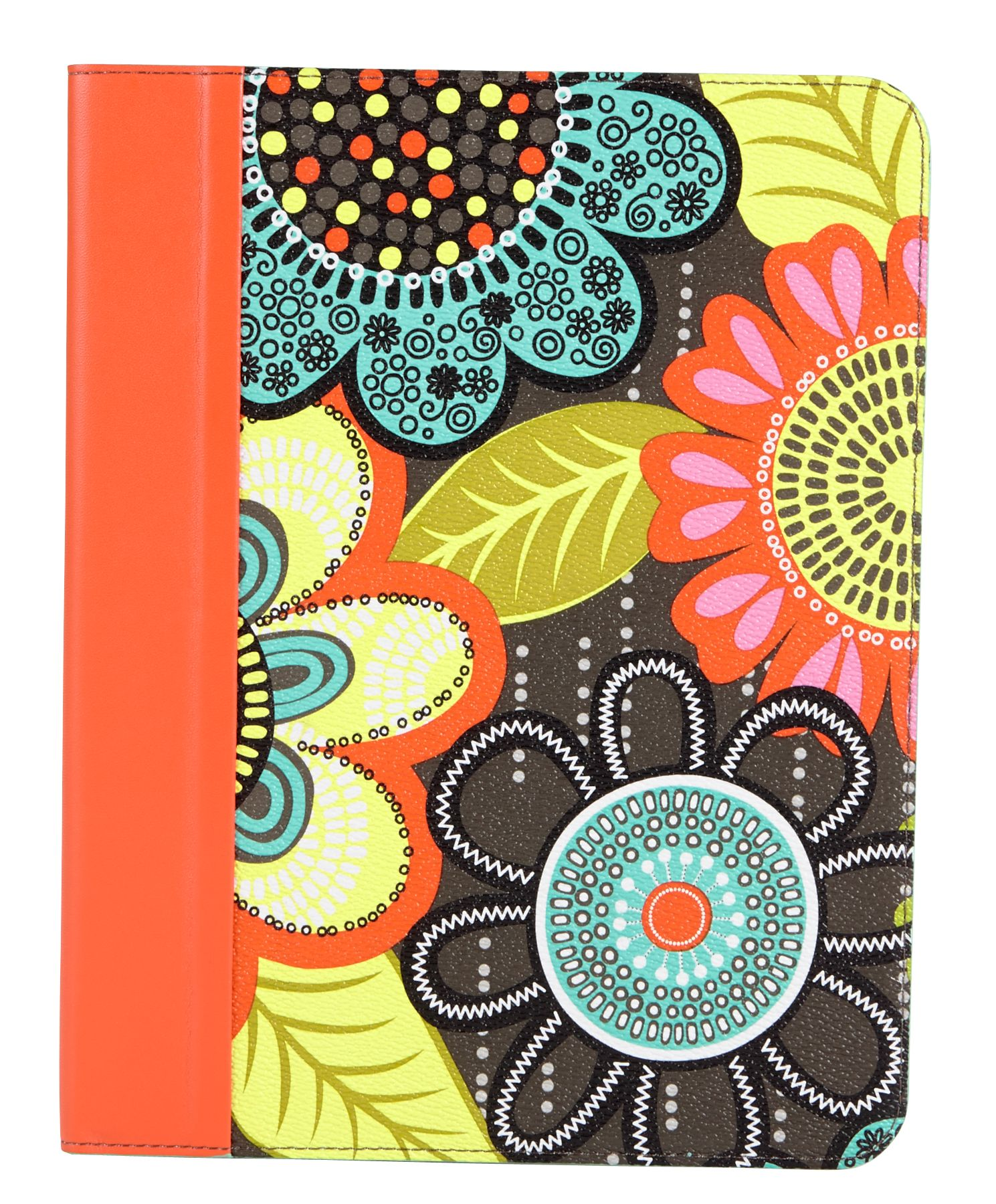 Vera Bradley Retired 2014 Petal Paisley Tablet Folio Case With Stand