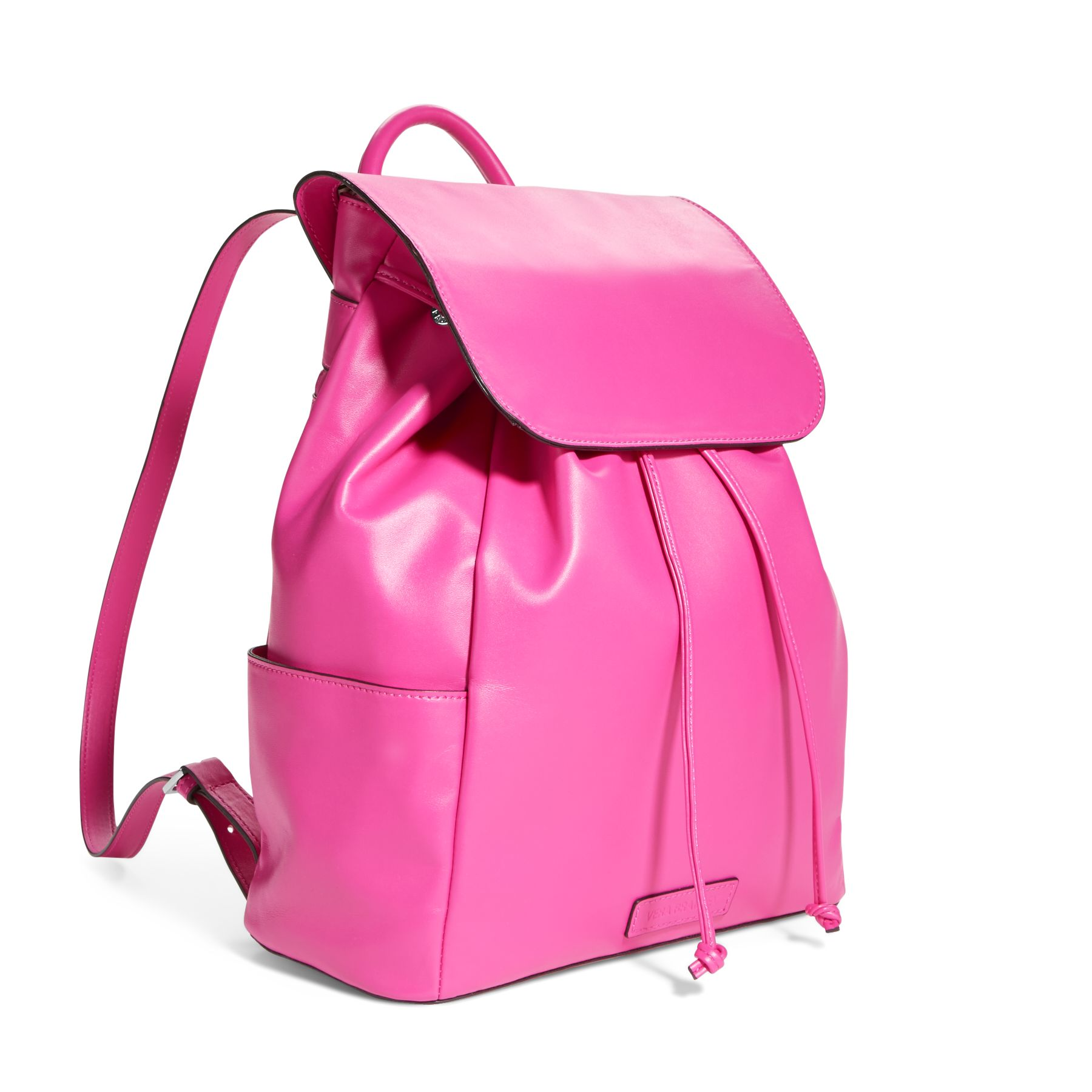 Vera Bradley Faux Leather Drawstring Backpack Purse | eBay