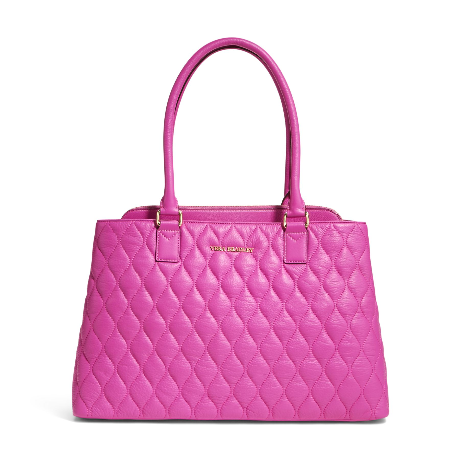 Vera Bradley Quilted Leather Emma Tote Bag Ebay