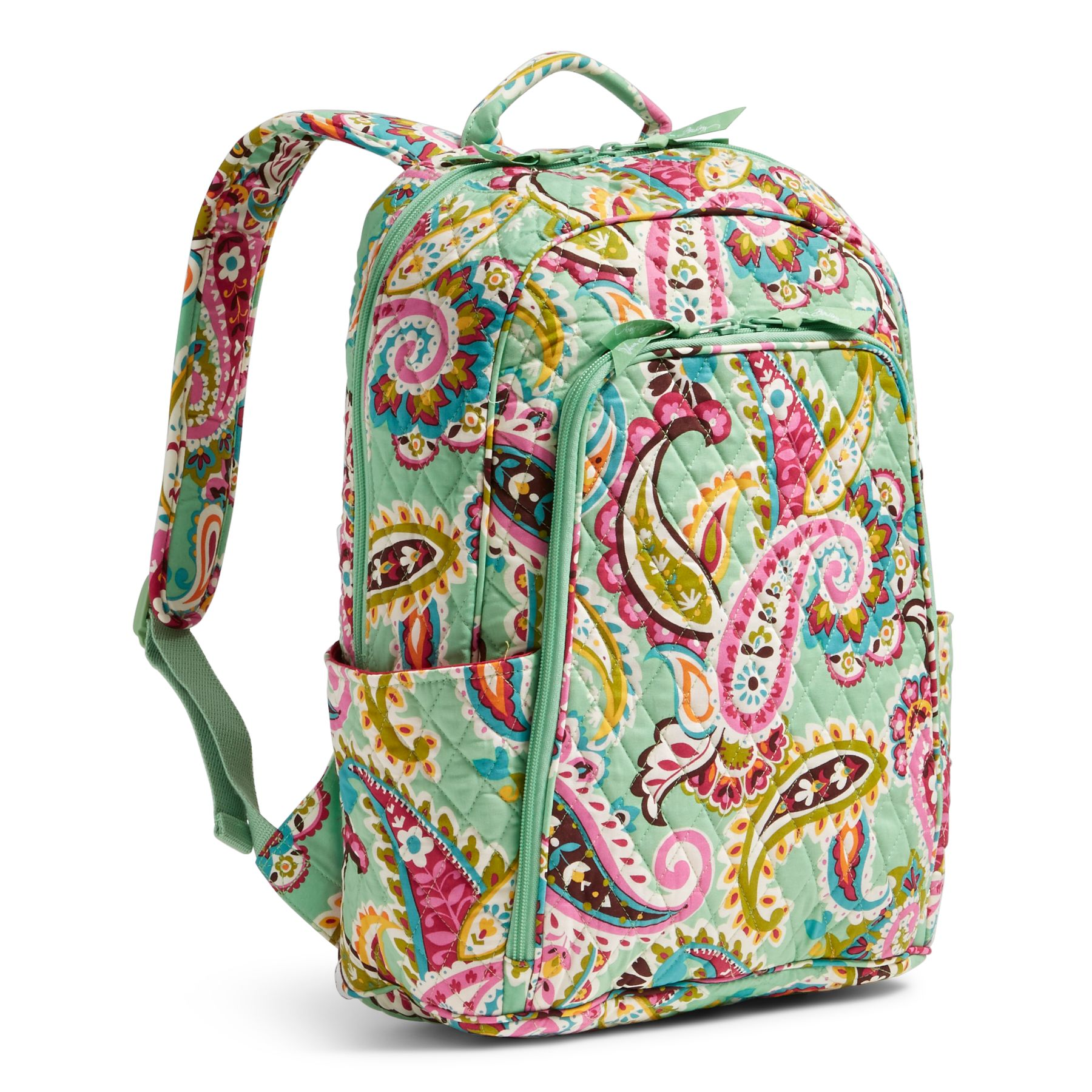bcf8e801f3 Vera-Bradley-Factory-Exclusive-Laptop-Backpack-Bag thumbnail 12