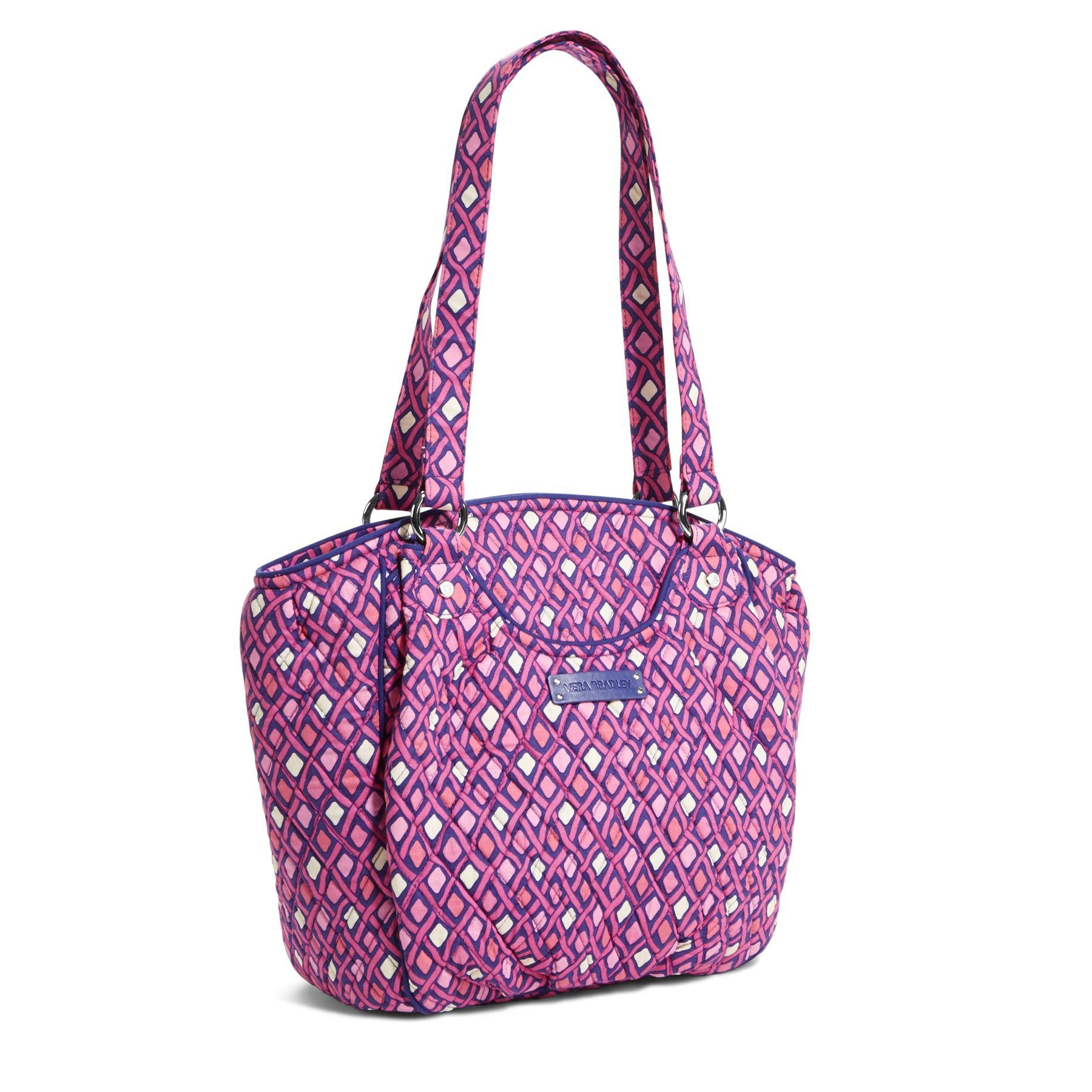 Vera Bradley Glenna Satchel Bag