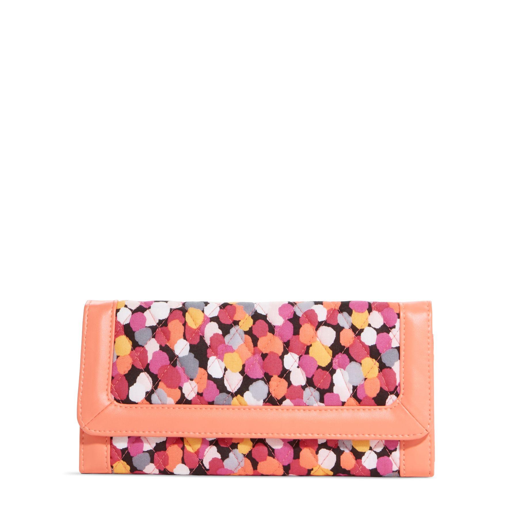 Vera Bradley Trifold Wallet in Pixie Confetti 14772-208944 Clutch | eBay