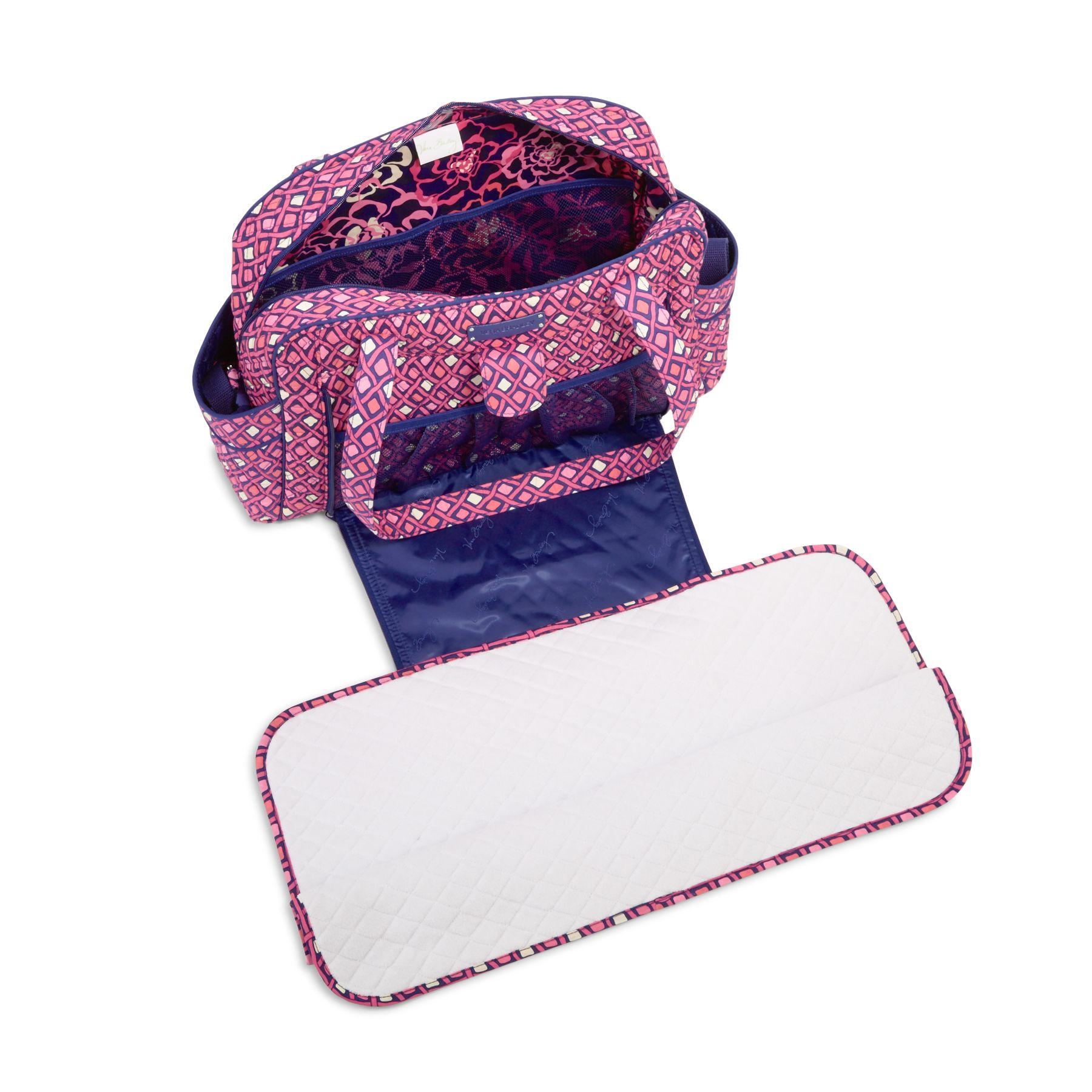 vera bradley stroll around baby diaper bag ebay. Black Bedroom Furniture Sets. Home Design Ideas