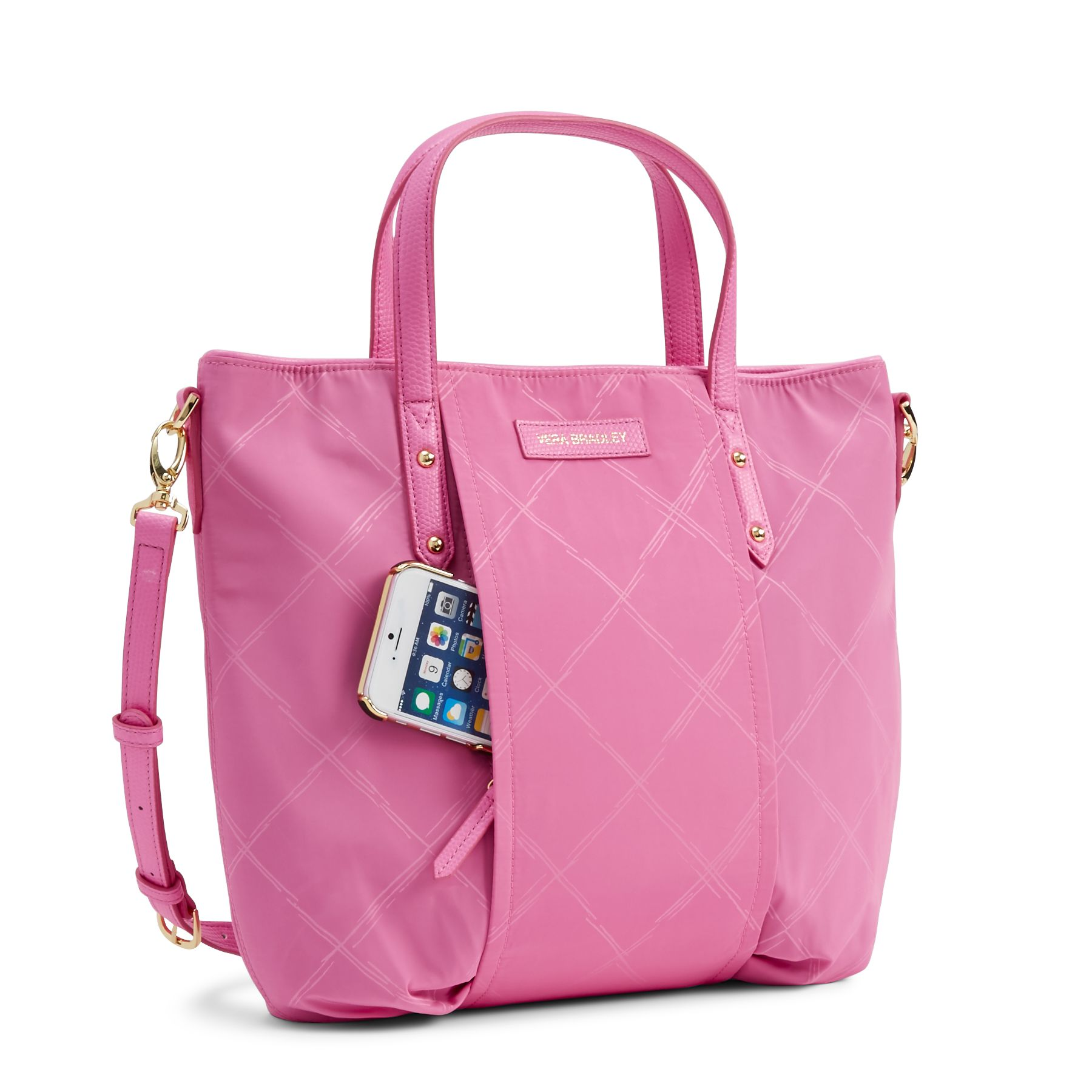 Vera-Bradley-Preppy-Poly-Satchel-Bag