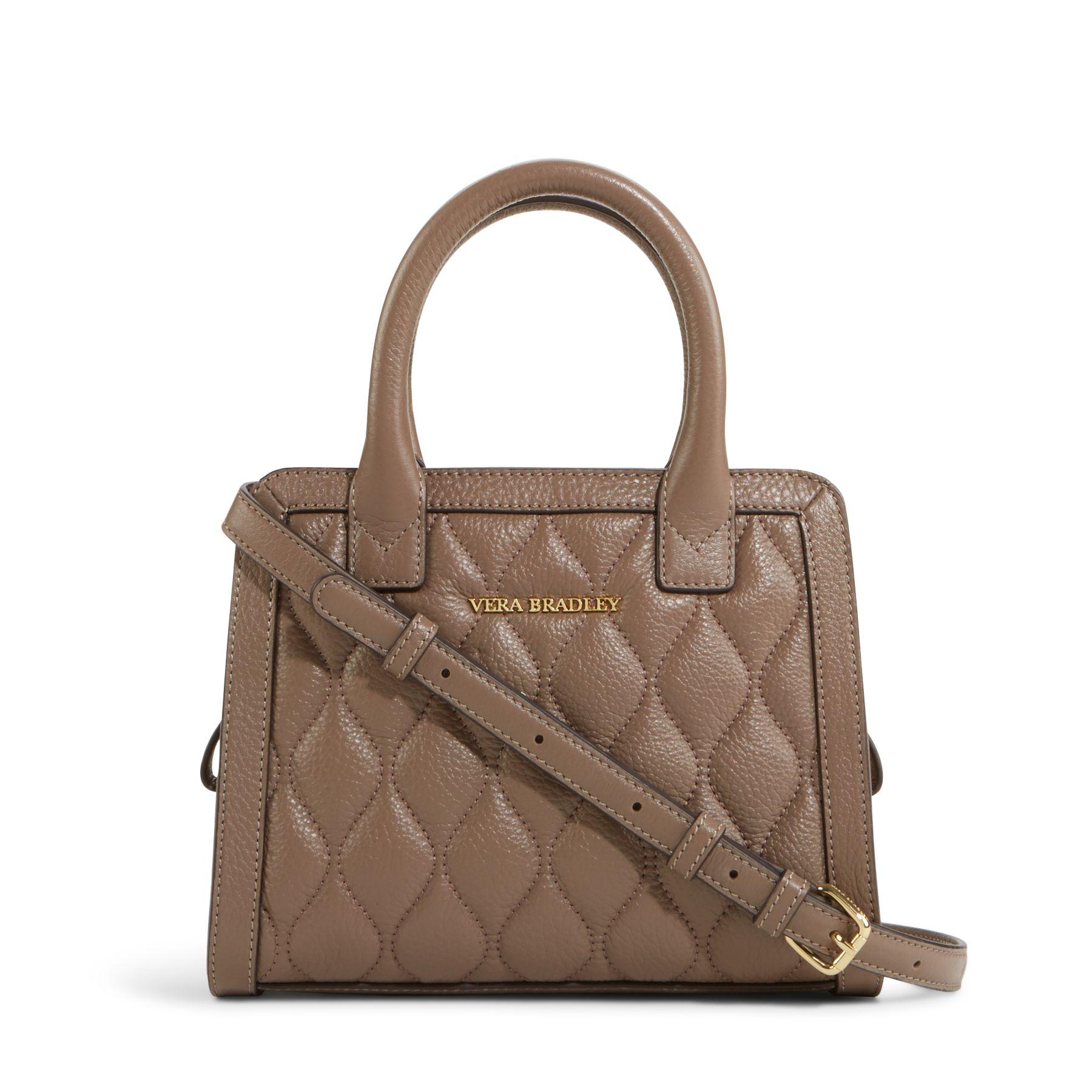 Vera Bradley Quilted Leather Natalie Crossbody Bag Ebay