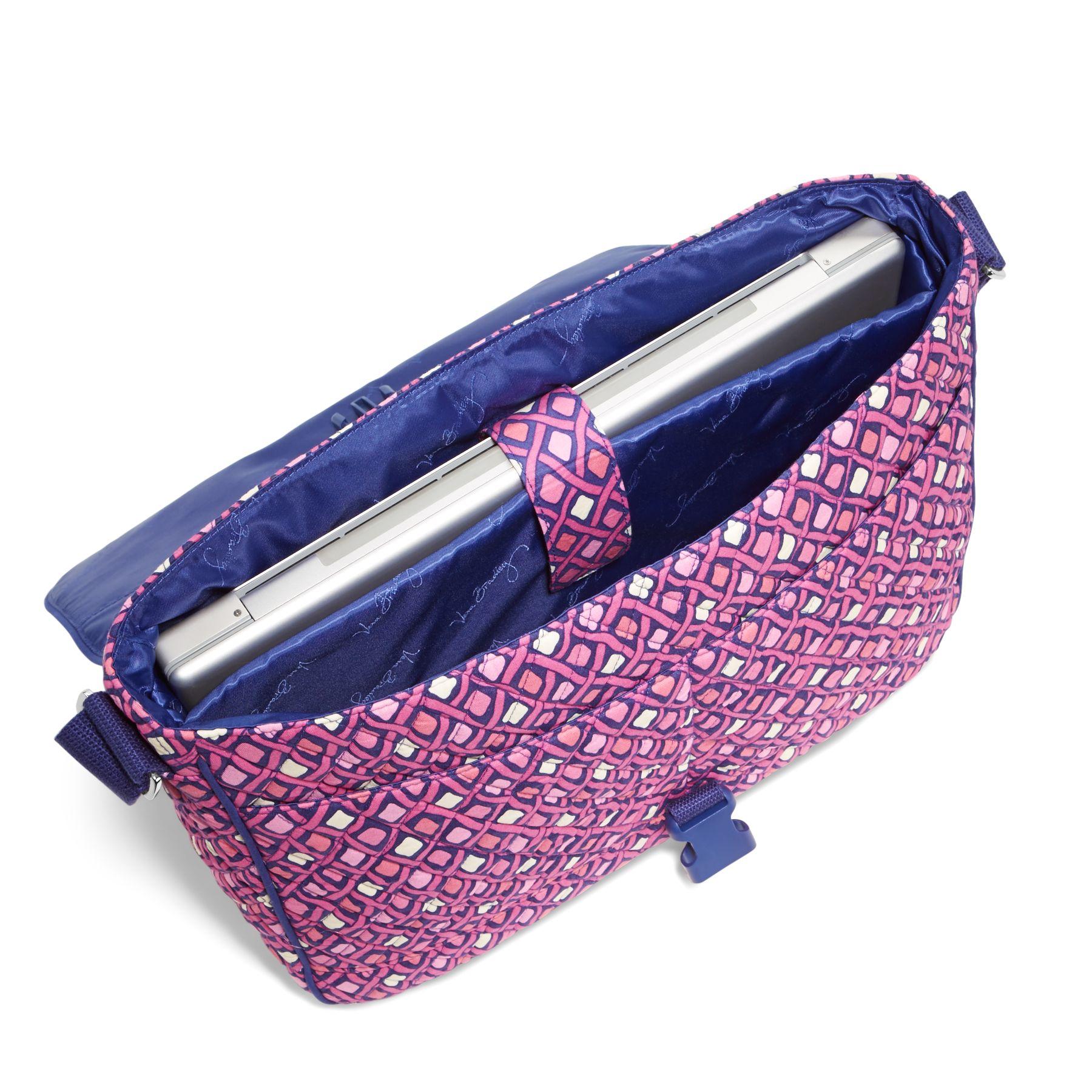 b6a1b8631a83 Vera Bradley Laptop Messenger Bag