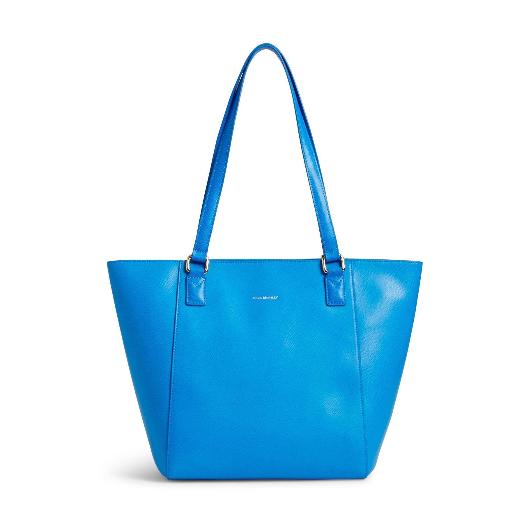 Vera Bradley Leather Small Ella Tote Bag Ebay
