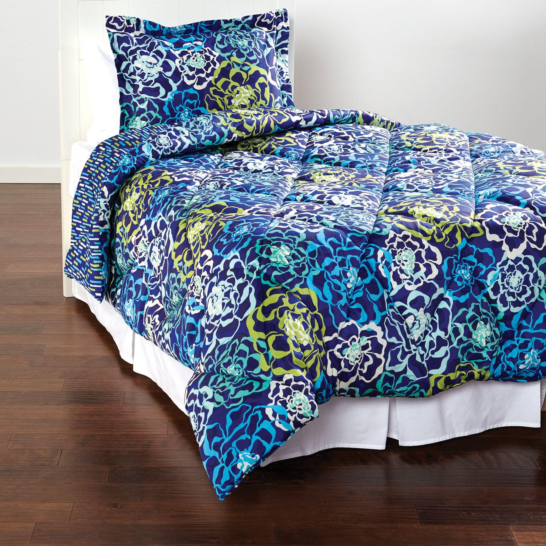 Vera Bradley Cozy Comforter Set Twin Xl Ebay