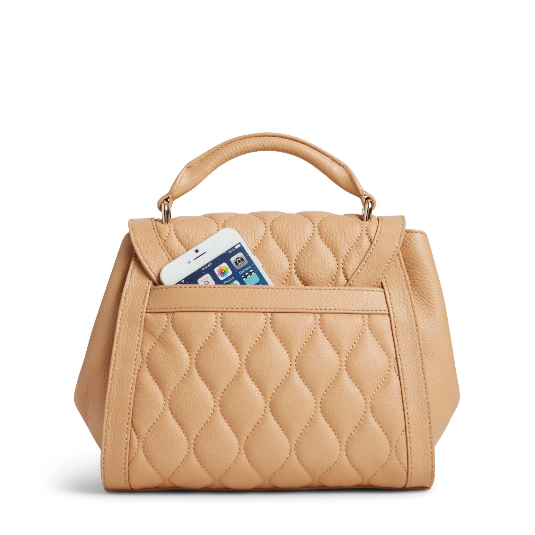 Vera Bradley Quilted Leather Mini Stella Satchel Bag Ebay