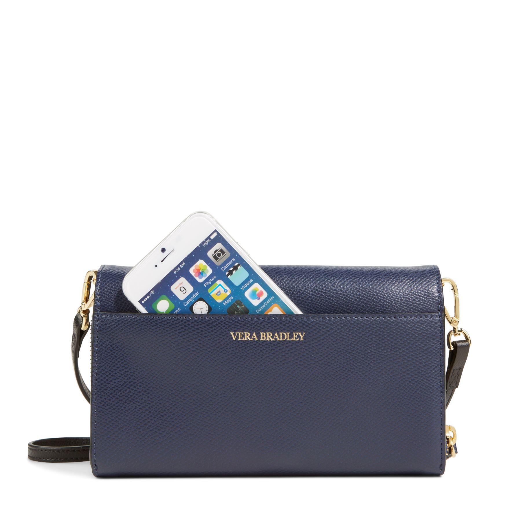 Vera Bradley Leather Ultimate Crossbody Bag Ebay