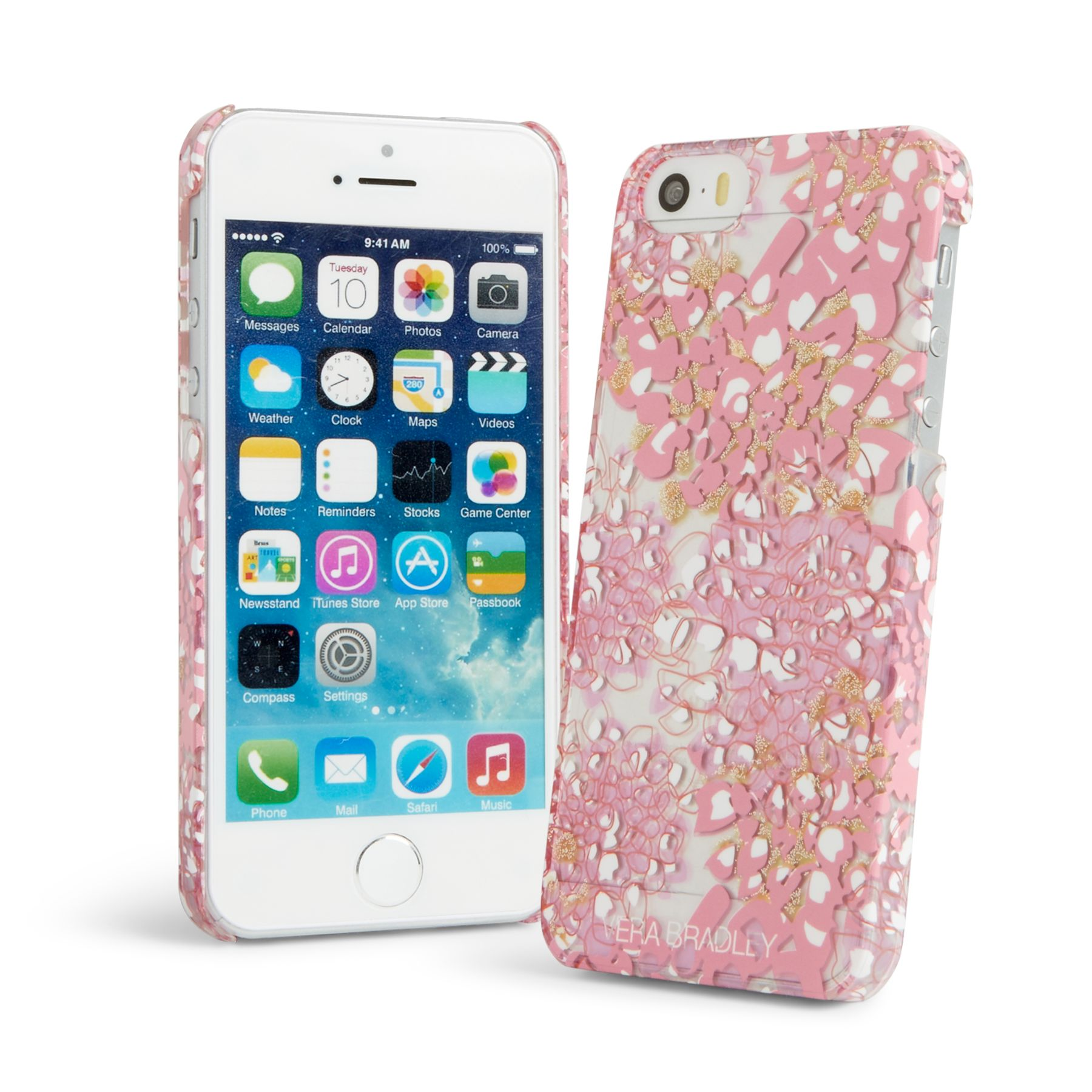 vera bradley iphone 5 case vera bradley clear amp chic for iphone 5 in blooms pink 18147