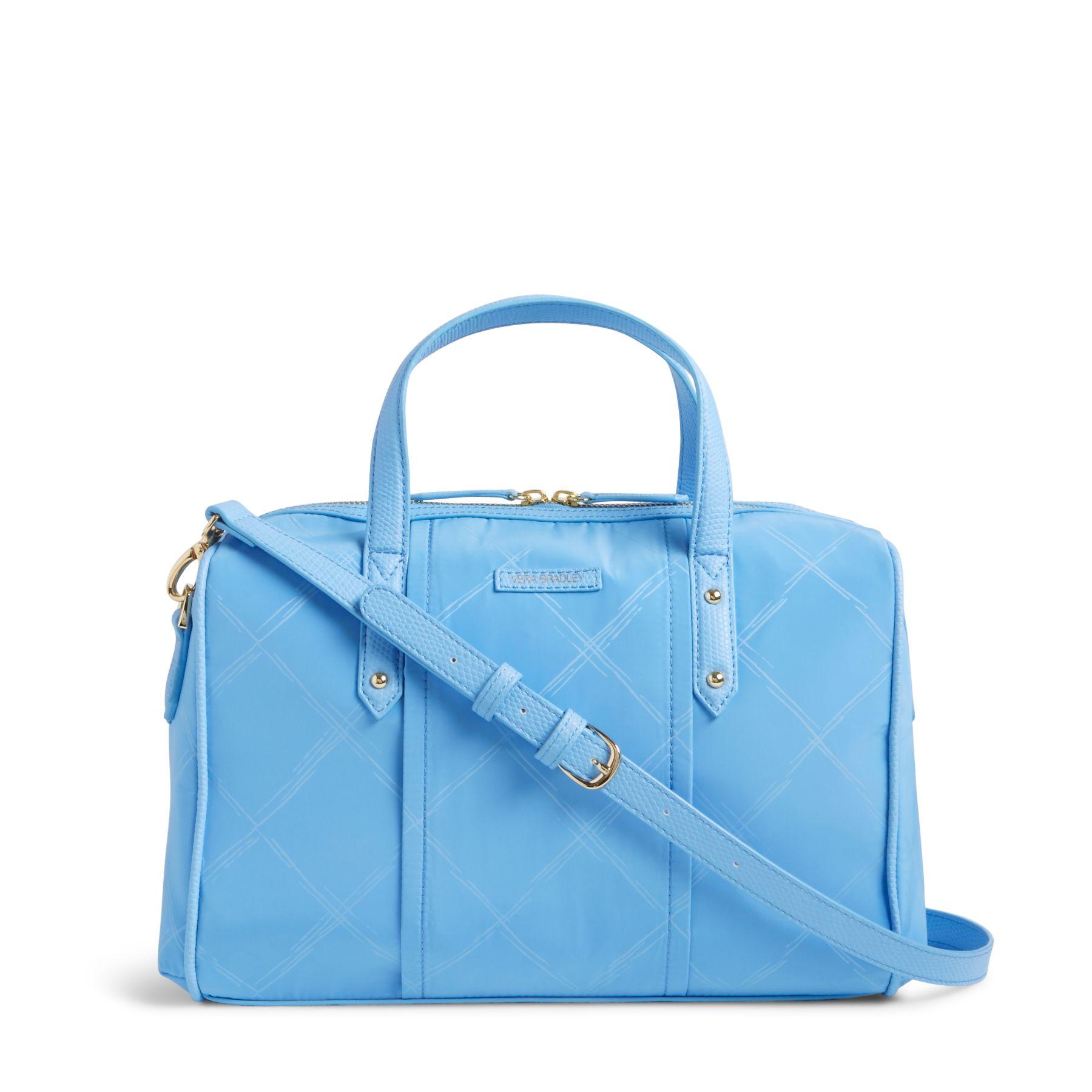 Vera Bradley Preppy Poly Marlo Satchel Bag | eBay