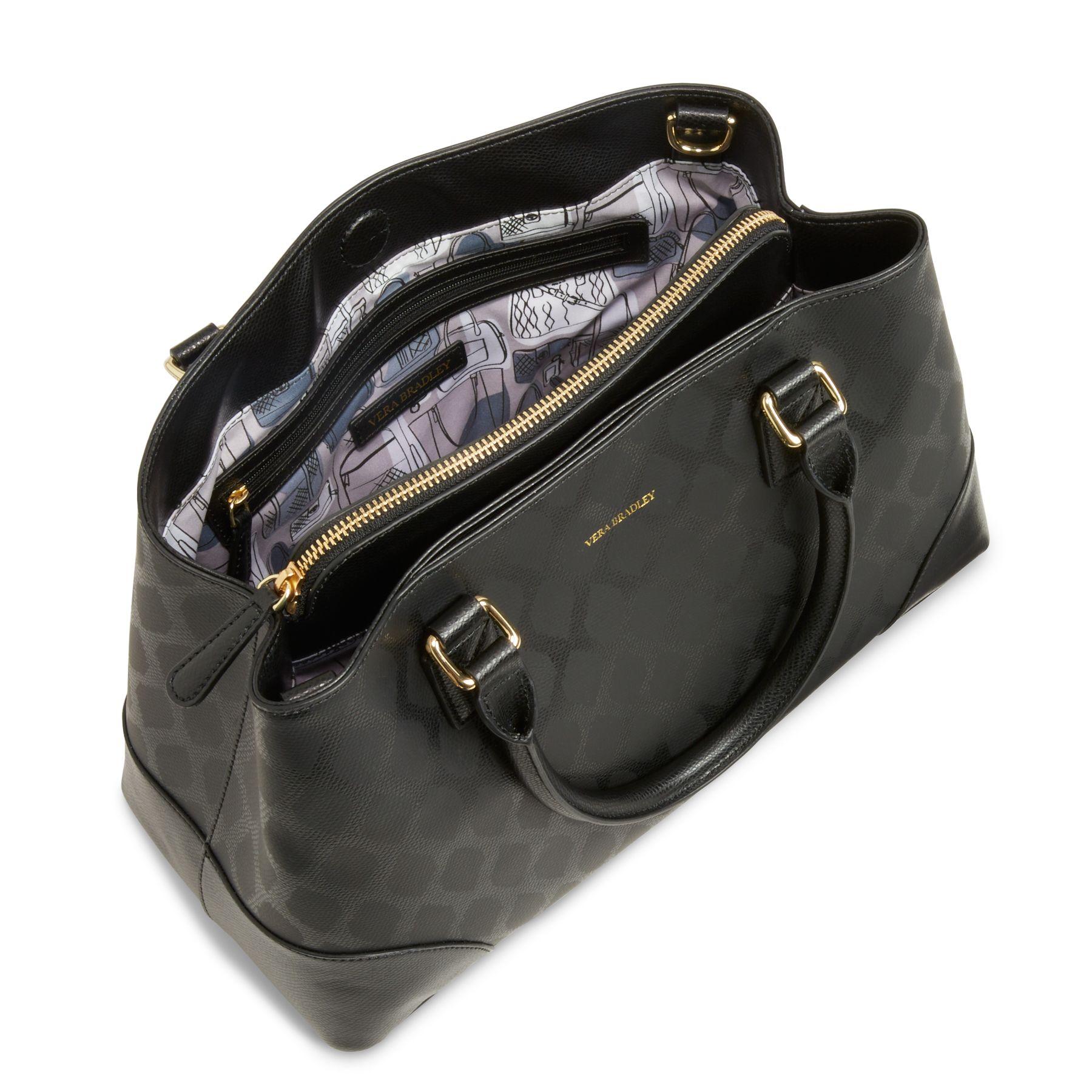 Vera Bradley Leather Emma Satchel Ebay
