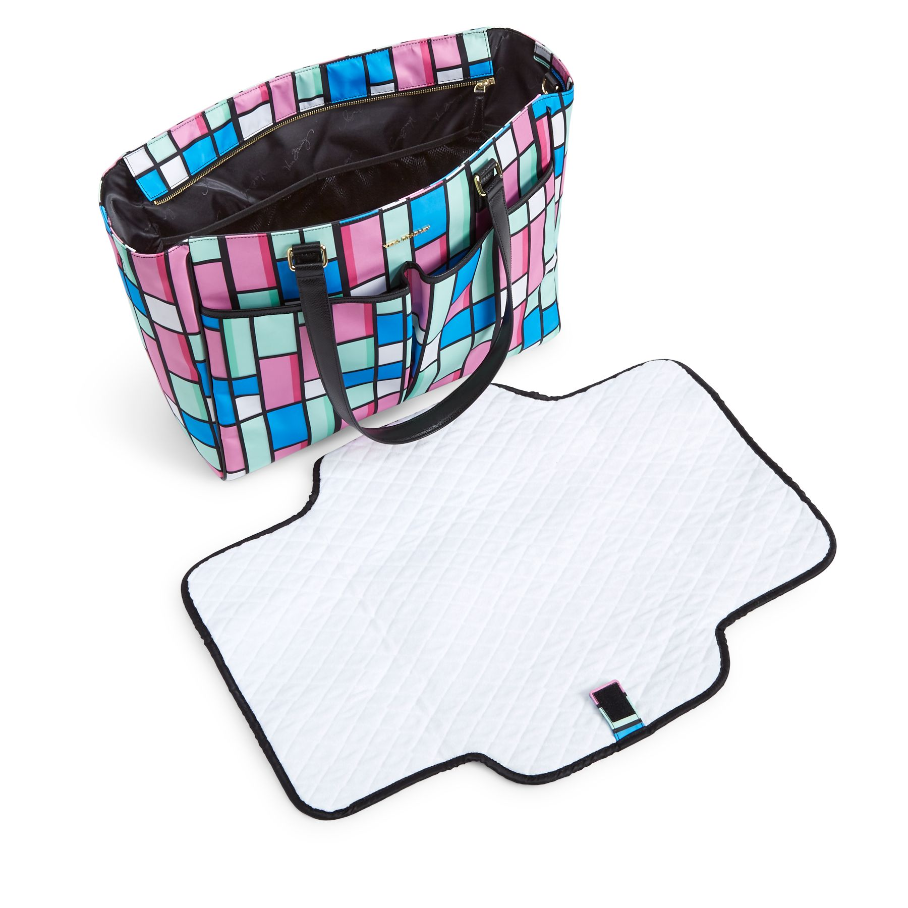 vera bradley uptown baby diaper bag ebay. Black Bedroom Furniture Sets. Home Design Ideas