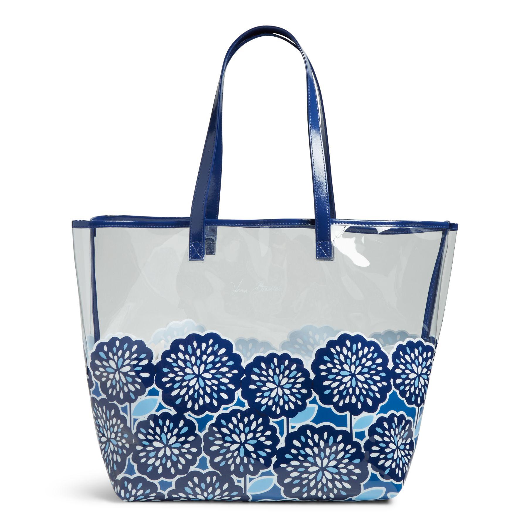 Vera Bradley Clearly Colorful Tote Bag Ebay