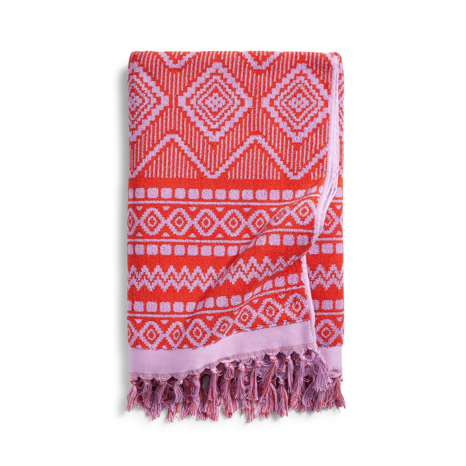 Beach Towel: Vera Bradley Tassel Beach Towel