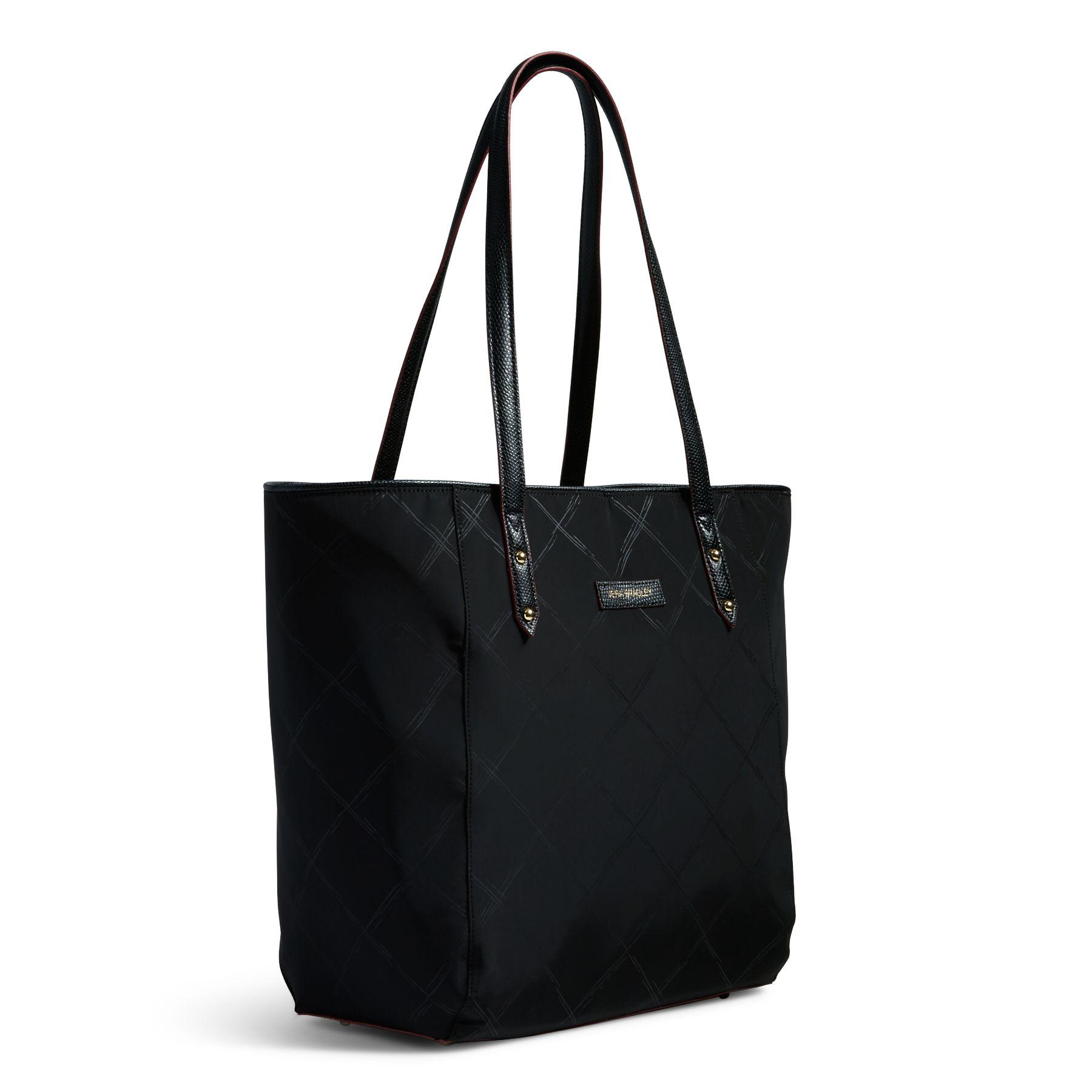 Vera Bradley Preppy Poly Ella Tote Bag Ebay