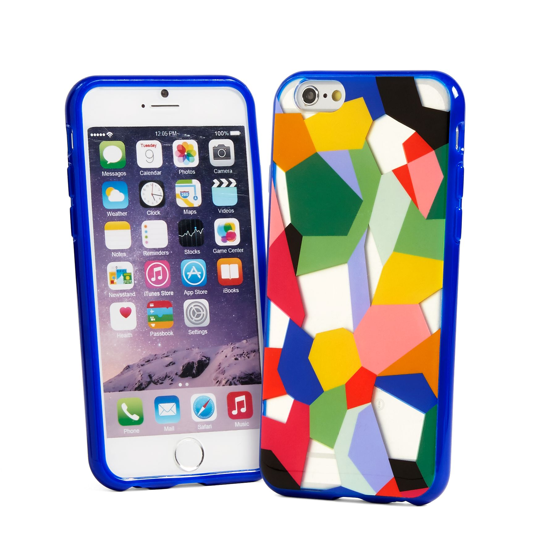 Vera Bradley Flexible Frame Phone Case for iPhone 6/6s in Pop Art ...