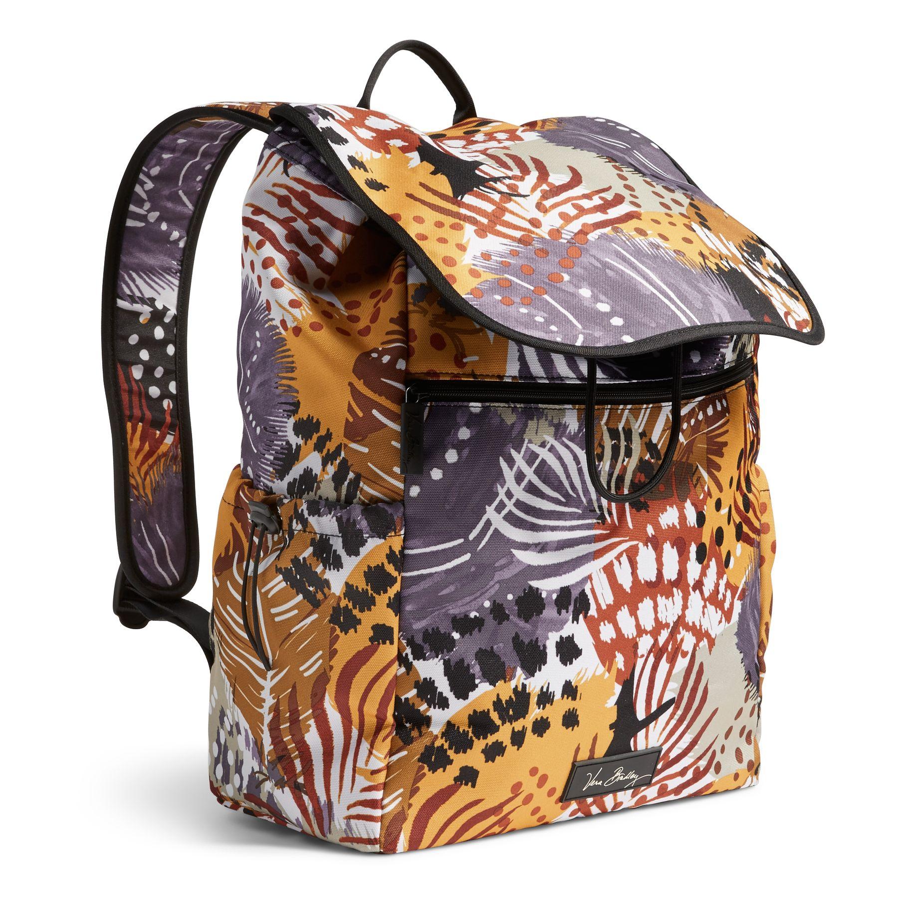 Vera Bradley Lighten Up Drawstring Backpack Bag