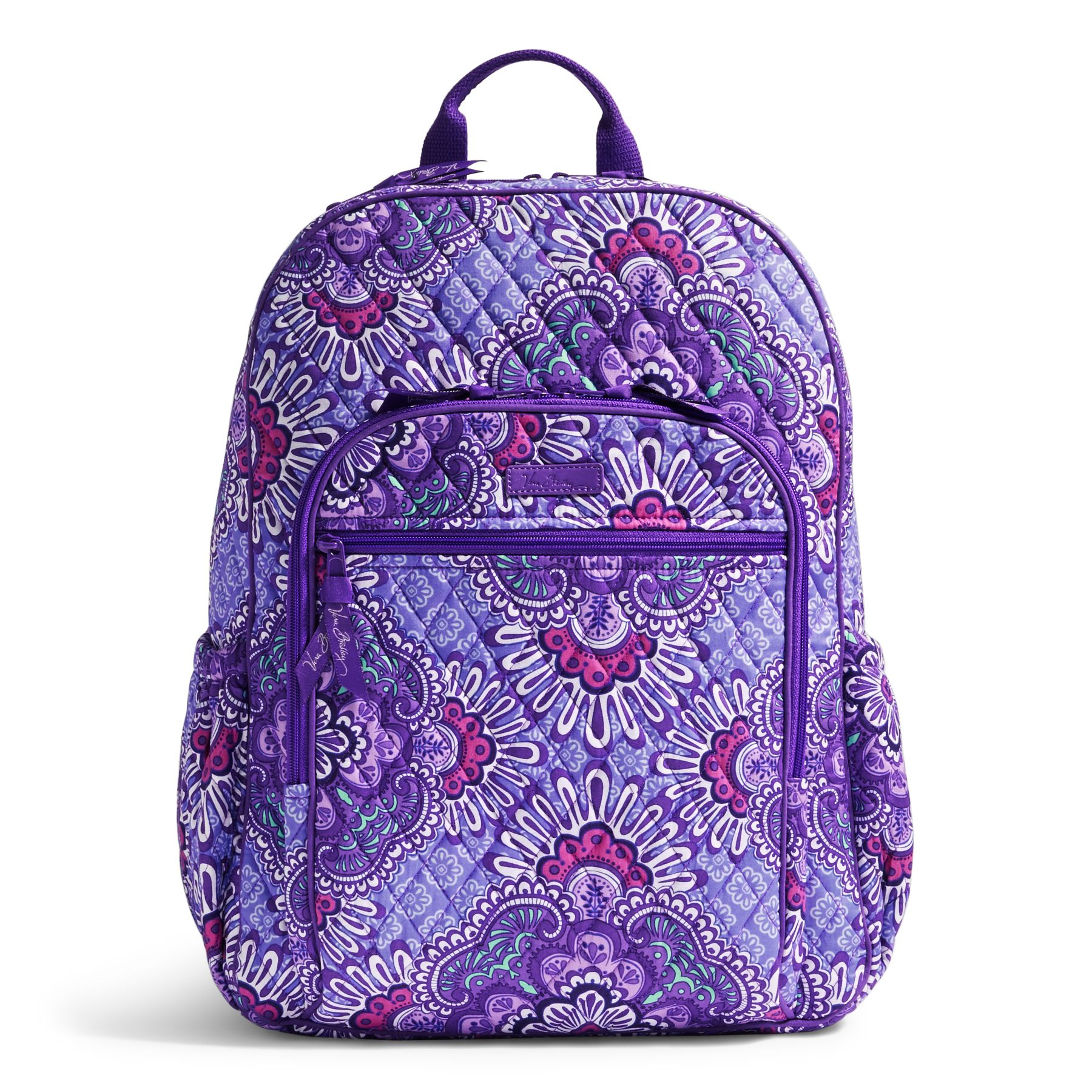79111d86fe2b UPC 886003388037 product image for Vera Bradley Campus Tech Backpack in  Lilac Tapestry