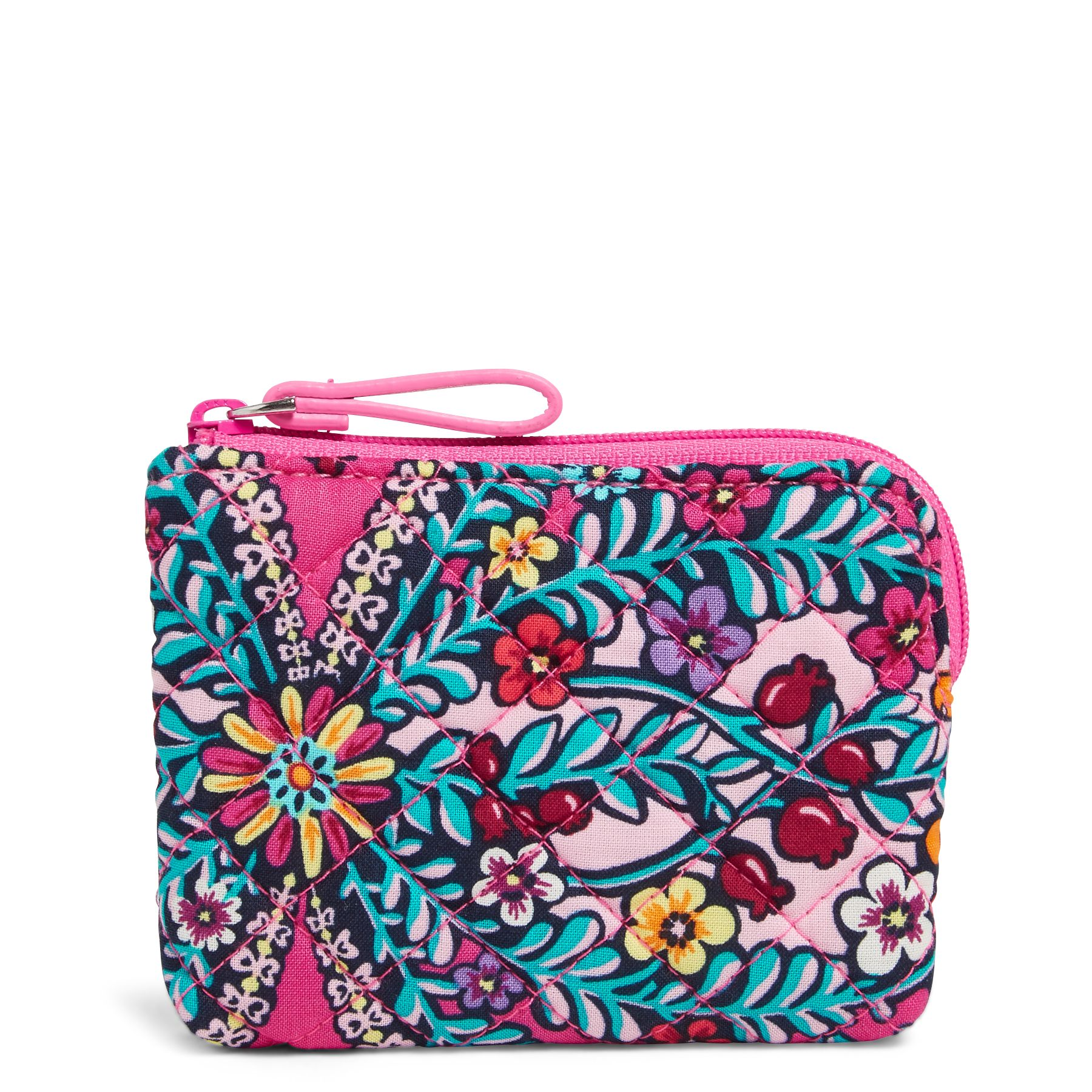 Vera Bradley Coin Purse, Pink (886003573433 Accessories) photo