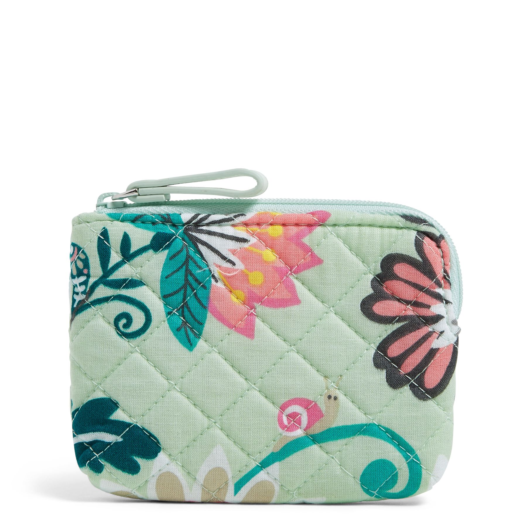 Vera Bradley Coin Purse, Green (886003604250 Accessories) photo