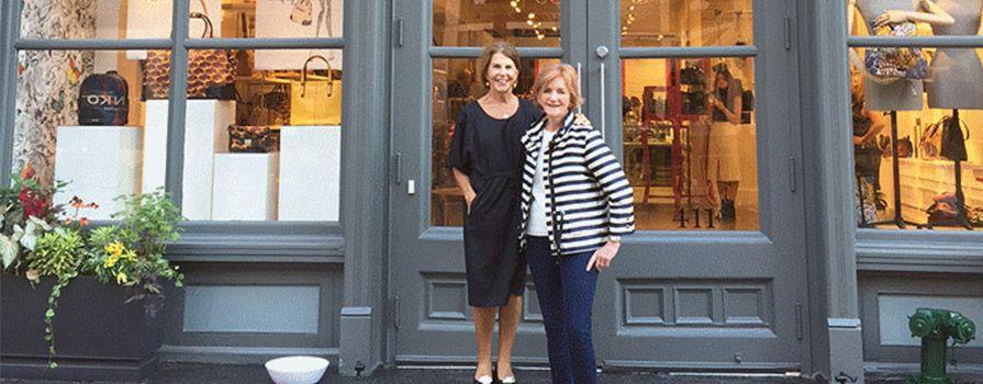 Barb & Pat at SOHO