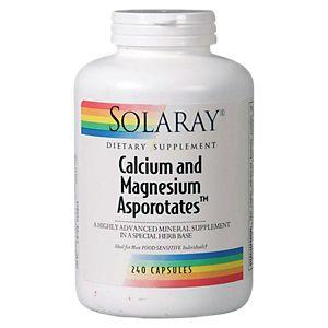 Calcium And Magnesium Asporotates (240 Capsules)