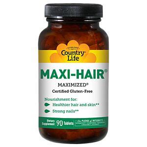 Buy Country Life Maxi-Hair Maximized Vitamins at The Vitamin Shoppe