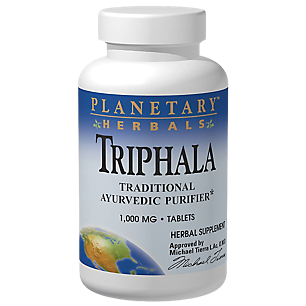 Triphala - Traditional Ayurvedic Purifier - 1,000 MG (180 Tablets)