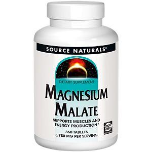 Magnesium Malate 1250 MG (360 Tablets)