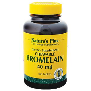 Bromelain - 40 MG (180 Chewable Tablets)