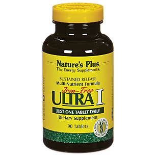 Ultra I Multivitamin - Iron Free - Sustained Release (90 Tablets)