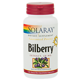 Bilberry Extract - Healthy Eyes & Circulation - 60 MG (120 Capsules)