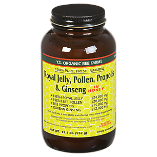 Royal Jelly, Bee Pollen, Propolis & Ginseng
