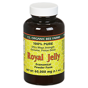 100% Pure Royal Jelly Powder - Ultra Mega Strength - Genuine, Freeze Dried (120 Servings)