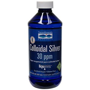 Colloidal Silver Products Colloidal Silver 30 Ppm 8 Fl