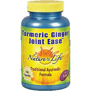 Turmeric Ginger Joint Ease - Traditional Ayurvedic Formula (100 Capsules)
