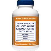 Triple Strength Glucosamine Chondroitin MSM