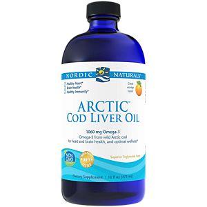 Arctic Cod Liver Oil - Orange (16 Fluid Ounces Liquid)