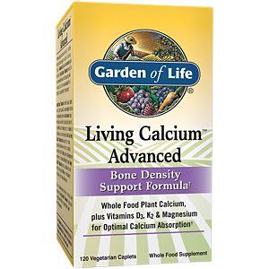 living calcium advanced 120 caplets garden of life - Garden Of Life Vitamins