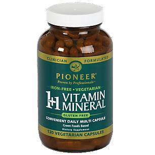 1+ Vitamin Mineral Iron Free