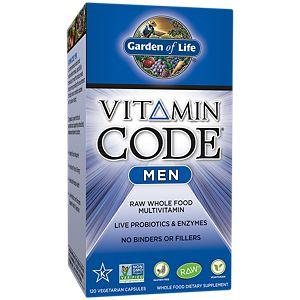 Vitamin Code Men (120 Veggie Caps) By Garden Of Life At The Vitamin Shoppe