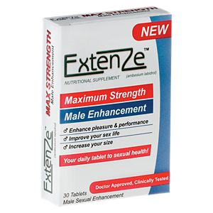 Extenze on sex talk