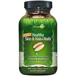 Healthy Skin & Hair Plus Nails (60 Softgels) by Irwin Naturals at ...