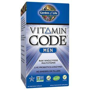 Vitamin Code Men (240 Capsules) By Garden Of Life At The Vitamin Shoppe