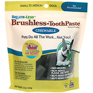 Chewable Brushless Toothpaste For Small-Med. Pets