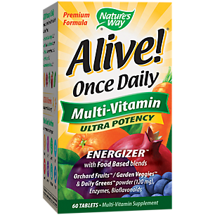Alive! Once Daily Ultra Multivitamin
